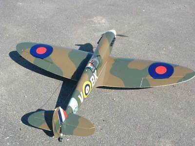 Large 1/6  Scale British WW-II Spitfire Mk.1 Plans and Templates 72ws