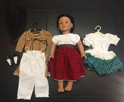 American Girl Josefina Doll Pleasant Company w/ Outfits & Accessories