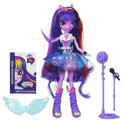 Figurine Mon Petit Poney : Equestria Girls Rainbow Rocks : Twilight Sparkle