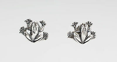 Frog stud earrings 9901264