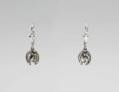 Earrings Horse head in the Horse shoe 9901310