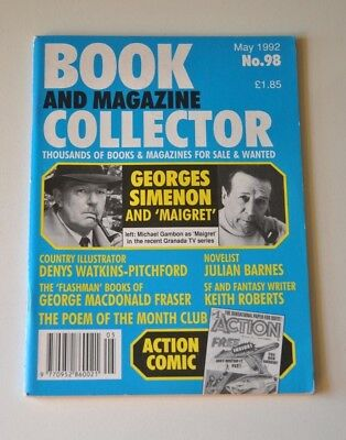 Book Collector May 1992 # 98 - Georges Simenon, Keith Roberts, Flashman, BB