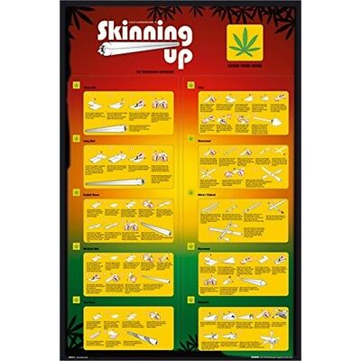 Skinning Up Weed Poster