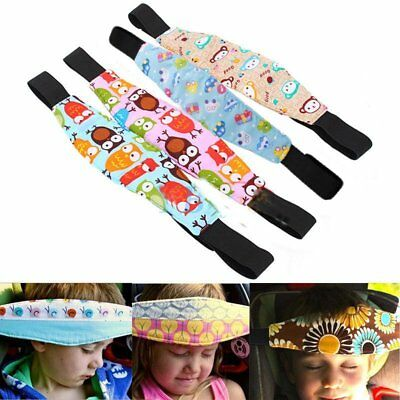 Safety Sleep Baby Kids Car Seat Nap Aid Stroller Head Fasten Support Holder Belt
