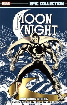 Moon Knight Bad Moon Rising TPB (2014 Marvel) Epic Collection #1-1ST NM