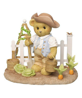 "Cherished Teddies ""thomas ~ Williamsburg Garden Bear"" 4036076 * Free Shipping"