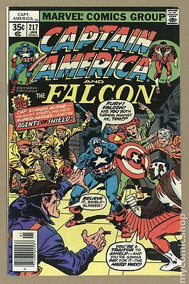 Captain America (1968 1st Series) #217 FN+ 6.5