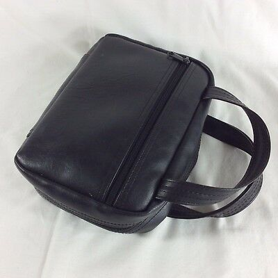 Black Faux Leather Standard Size LDS Scripture Case Mormon Tote Carrying Cover