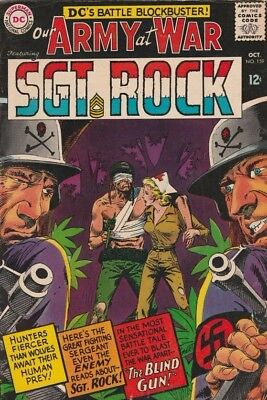 Our Army at War #159 Sgt. Rock strict FN/VF 7.0 High-Grade  Many more War books