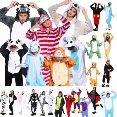 Unisex Adult Pajamas Kigurumi Cosplay Animal Onesie4 Sleepwear Suit wholesale