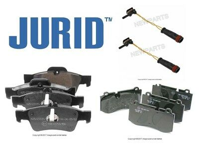 For Mercedes C216 W221 S550 R230 Front /& Rear Brake Pad Sets Genuine