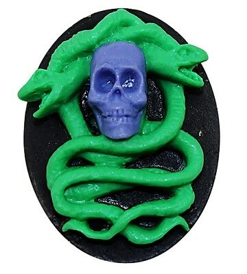 Silicone Skull & Snake Mould Cake Sweets Jelly Cake Decoration  Halloween Party