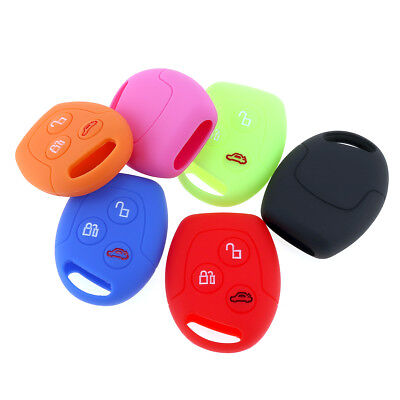 Silicone Car Key Case Cover for Ford Series Focus/Mondeo/Festiva/Fusion/Fiesta #