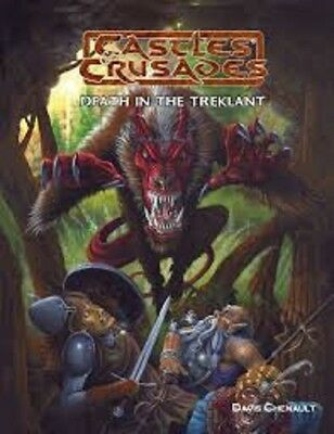 Castles & Crusades Death In The Treklant Roleplaying Game Book Brand New