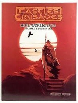 Castles & Crusades Odins Fury Roleplaying Game Book Brand New Cheap!!