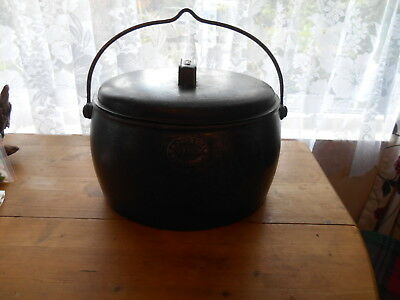 E Pugh Co Wednesbury CAST Iron Cornish Cook...