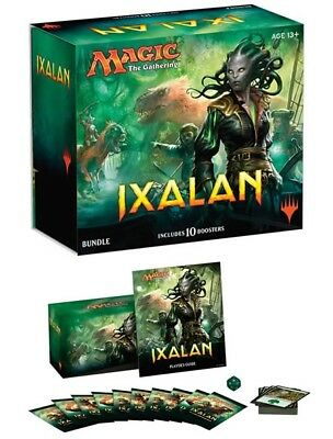 Wizards of the Coast Magic The Gathering Ixalan Bundle Box, includes 10 boosters