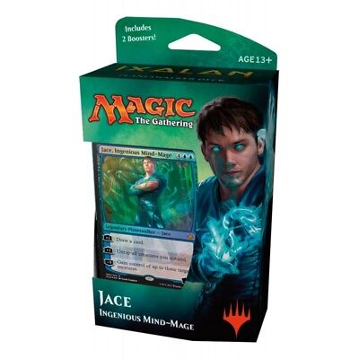 Wizards of the Coast Magic The Gathering Ixalan Jace Mind-Mage Planeswalker Deck