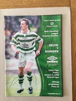 CELTIC ( 2 Autos ) v RANGERS 1997/8.