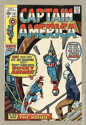 Captain America (1968 1st Series) #131 VF- 7.5