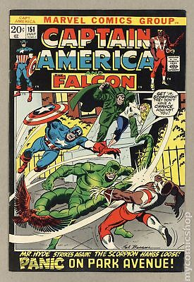 Captain America (1968 1st Series) #151 VF 8.0