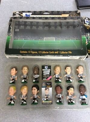 Newcastle United NUFC Corinthian Team 12 Figures 1995 Pack.