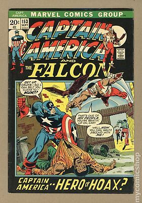 Captain America (1968 1st Series) #153 VG/FN 5.0