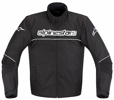 Alpinestars AST 1 Black Waterproof Textile Jacket Size Small S Only