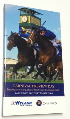 WINX Racebook 2014 Tea Rose 4th career start (finished 2nd) Excellent Condition!