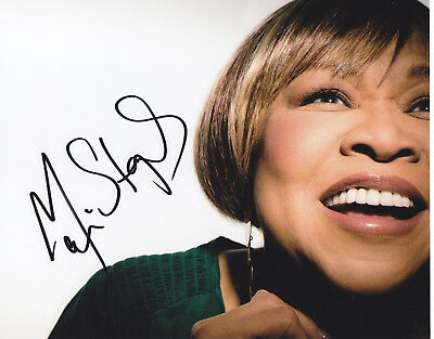 Mavis Staples Signed Autographed Jazz Music 8X10 Photo  Exact Proof