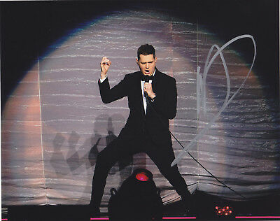 Michael Buble Signed Autographed Jazz Music 8X10 Photo  Proof
