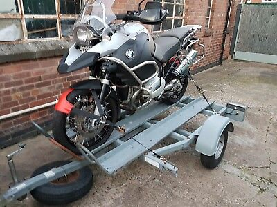 For Hire / Rent Motorbike Trailer Derby Nottingham Area For Hire / Rent
