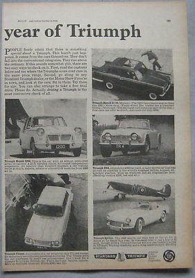 1964 Triumph Original advert No.1