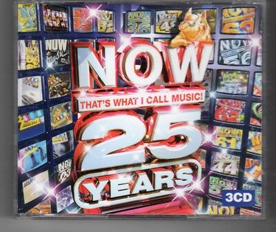 (HN257) Now That's What I Call Music, 25 Years - 2008 triple CD