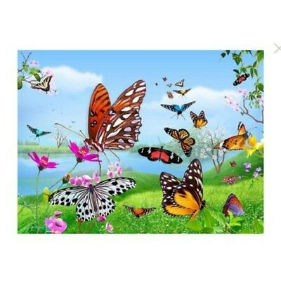 3d Poster Butterfly