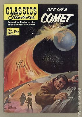 Classics Illustrated 149 Off on a Comet (1959) #1 VG/FN 5.0