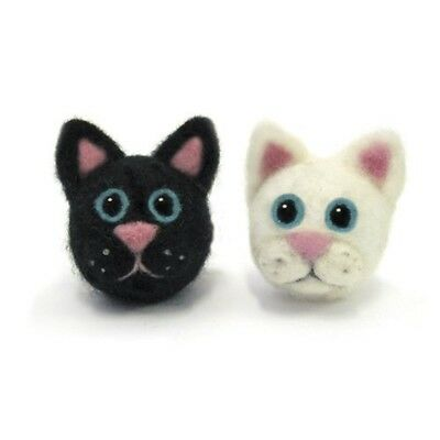 Dimensions Needle Felting - Round & Wooly: Cats - D7273907 Wooly Woolly Kit