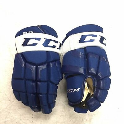 """Pro Stock CCM Maples Leafs 14"""" Ice Hockey Gloves NHL FREE SHIPPING"""
