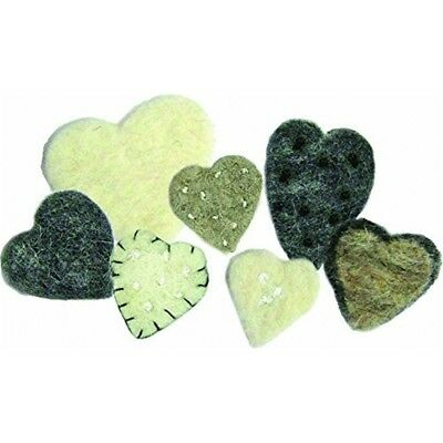Dimensions Wool Felt - Heart Mix - D7273954