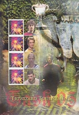 Stamps Singapore Triwizard Tournament Mini Sheet From Harry Potter Collection
