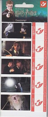Stamps Belgium Gryffindor Duostamp Packet Set From Harry Potter Collection