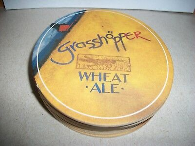 10- Brand New- Grasshopper Wheat Ale- Beer Coasters