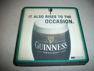 10- Brand New- Guinness- Beer Coasters