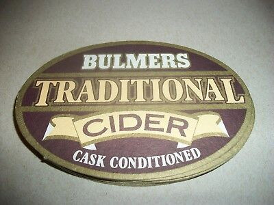 10- Brand New- Bulmers Traditional Cider- Beer Coasters