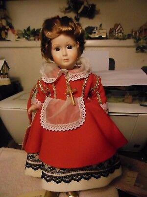 "12"" All Bisque doll made by Al Trattner"