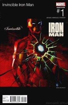 "Invincible Iron Man #1 Stelfreeze Hip Hop ""Get Rich Or Die Tryin"" Variant 2015"