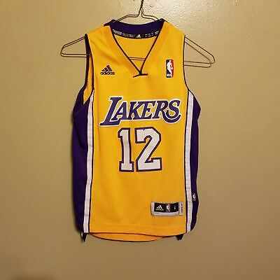 6f79bcae212 Los Angeles Lakers Dwight Howard Basketball Jersey Size Sm Adidas Youth