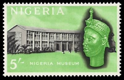 NIGERIA 111 (SG99) - National Museum and Sculpture (pa80492)