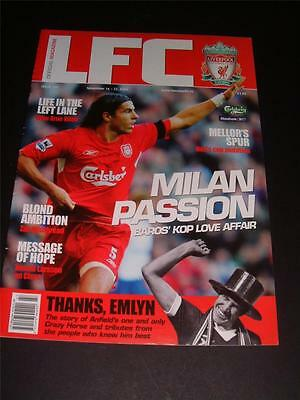 Liverpool Fc Legend Emlyn Hughes Death Tribute Rare Nov 2004 Official Magazine
