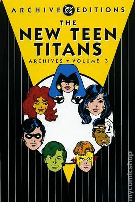 DC Archive Editions New Teen Titans HC (1999-2008 DC) #3-1ST NM